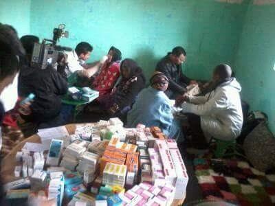 إقليم ميدلت: حملة طبية لفائدة الرحل في منطقة بنعكي التابعة لجماعة امزيزل دائرة الريش 