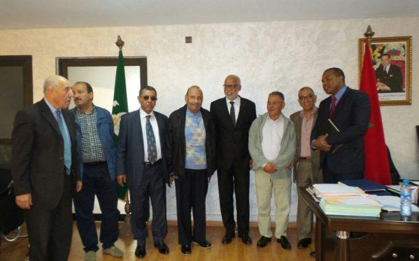 وزير الشغل والادماج المهني يلتقي شركاء الحكومة الاجتماعيين والاقتصاديين بمقراتهم